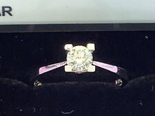 Diamant Brillant Solitär Ring 0,41 ct Farbe G aus 750 Weißgold + Zertifikat