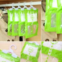 100g#Scented Hanging Dehumidifier Bag Room Wardrobe Damp Mildew Moisture Absorb