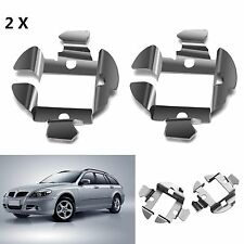 2X H7 HID Bulb Holder Adapter Retainer Metal Clip Set For BMW VAUXHALL AUDI BENZ