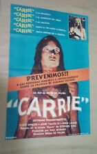 PA1 Original CARRIE Sissy Spacek Piper Laurie HORROR Movie Poster Argentina 1976