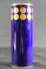 Vase Lindner echt Cobalt Kueps Bavaria Goldrand