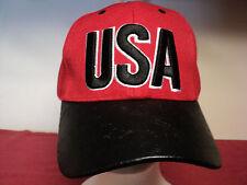 "New Genesis Headgear ""USA"" baseball cap new snap back"
