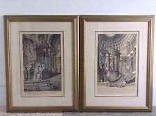 1743 Gruppo di Colonne Giovanni Battista Piranesi Print Etching Engraving Italy
