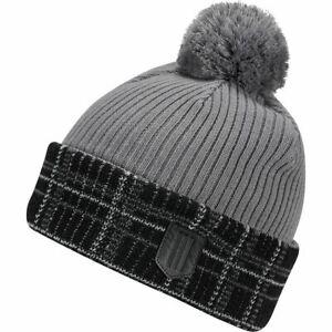 ADIDAS Mens Novelty Primegreen Pom Pom Golf Beanie Winter Hat