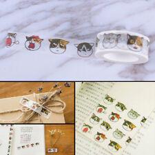 New listing 1.5cm*7m Cat tape Diy decoration scrapbooking masking tape adhesivecb