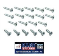 HOLDEN FE FRONT & REAR DOOR OPENING SCUFF PLATE SCREWS RARE SPARES BRISBANE STH