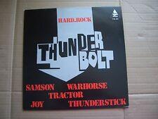 THUNDERBOLT - VA NWOBHM - VINYL LP - SAMSON THUNDERSTICK JOY WARHORSE TRACTOR