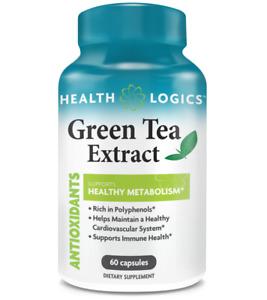 Health Logics Green Tea Extract, EGCG, Antioxidants, Supports Immune Health