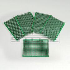 Set 5pz millefori 5x7 cm - basetta vetronite doppia faccia - ART. AN13