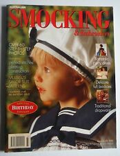 Australian Smocking & Embroidery Magazine no 33 craft book