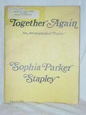 Together Again Parker Davies Genealogy Books Sophia Parker Stapley 1976