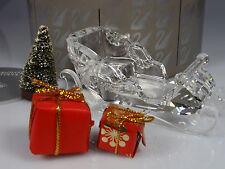 SWAROVSKI CHRISTMAS SLEIGH RETIRED 2005 MIB #205165