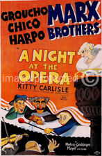 Night at the Opera Marx Brothers Vintage Movie Poster