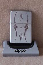 Zippo Lighter   Satin Chrome   CLASSIC