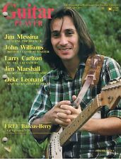 1977 Guitar Player Magazine, JIM MESSINA, Larry Carlton, BOB WEIR, Grateful Dead