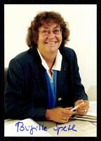 Brigitte Speth Fischer Foto Original Signiert ## BC 29876