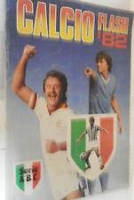 CALCIO FLASH 82 Album delle figurine 1982 CALCIATORI COLLEZIONISMO SPORT CALCIO