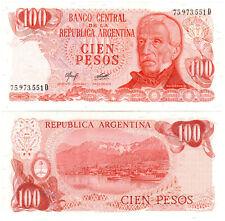 Argentina 100 Pesos P#302b(2) (1976-78) Banco Central de la República Argent UNC