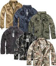 Brandit Britannia Herren Übergangsjacke Vintage Outdoor Sommer Jacke Army 3116