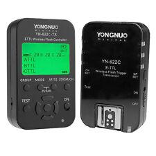 Yongnuo Funkauslöser Set Blitzauslöser YN-622C-Kit YN622C-TX+YN-622C E-TTL Canon