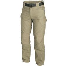 Pantalones de hombre beige de poliéster
