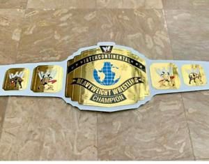 WWE Intercontinental Championship Replica Belt Brass Adult Size FREE SHIPING