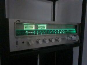 Rare Vintage JVC R-S7 Stereo Receiver/Amp.FM /AM Tuner.Wooden sides.Excellent.