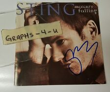 Sting Signed Autograph the Police COA 4