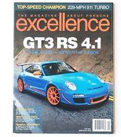 May 2014 Excellence Magazine About Porsche 911 GT3 RS 4.1 Car Newsstand No 218