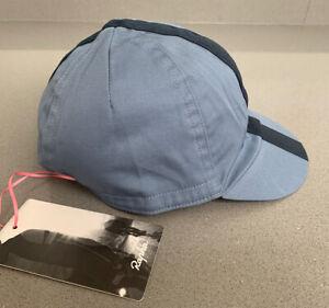 Rapha Cycling Cap Grey Blue/Dark Navy Size Small/Medium Brand New With Tag