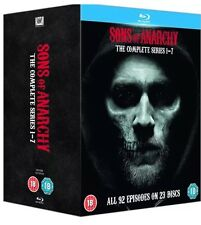 Sons of Anarchy - Seasons 1-7 Blu-ray 23 Discs NEW & SEALED