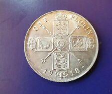 More details for 1918 george v silver florin unc.