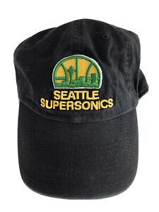 NBA Seattle Supersonics Hardwood Classics Medium Franchise Hat Cap by '47 Brand