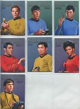 Star Trek Portfolio Prints Complete Bridge Crew Portraits Chase Card Set RA1-RA7