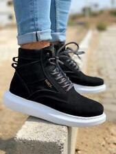 Knack KN404 Sneakers Schwarz | High top | Herren Schuhe | Sportliche Boots
