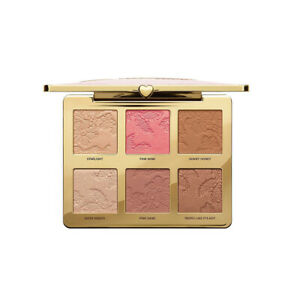 Too Faced Natural Face Highlight Blush Bronzing Veil Face Palette - Brand New