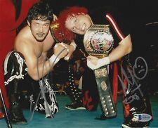 Yoshihiro Tajiri & Mikey Whipwreck Signed 8x10 Photo BAS COA WWE ECW Autograph 1