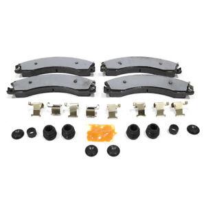 OEM NEW Rear Disc Brake Pads 16-20 Silverado Sierra - 4WD w/o Dually - 84259174