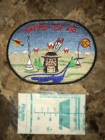 OA Lodge # 216 Nampa-Tsi J1 Oval Jacket Patch Great Rivers Council