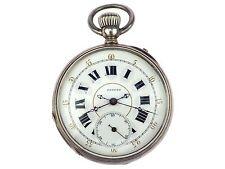 Lehmanns Patent Fine Silver mechanische Herren Open Face Taschenuhr 50mm um 1900