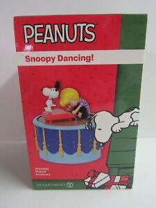Dept 56 Peanuts Musical Snoopy Dancing! 6003313