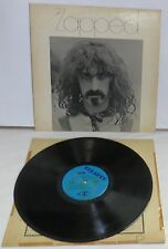 Frank Zappa Zapped LP Vinyl Record Mothers Of Invention Beefhearts First Press
