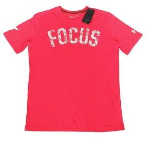 Under Armour Project Rock Focus Gym Workout Training T-Shirt Size Large Mens NEW