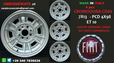 4 Cerchi Fiat 124 128 Cromodora CD66 CORSA 7x13 4x98 felgen wheels jantes