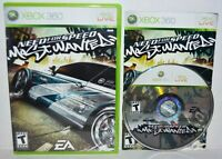 Need for Speed: Most Wanted (Microsoft Xbox 360, 2005) Complete Video Game RARE