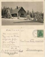 Tulla-Hütte auf dem Hunsrück nördl. Schwarzwald 1914   gel Sasabachwalden