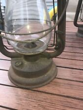 Antique Hibbard Spencer Bartlett Co OVB Kerosen Hot Blast Lantern Side Lift