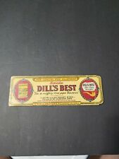 VINTAGE EARLY  DILLS BEST TOBACCO PIPE CLEANERS PACKAGE