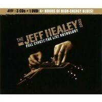 "JEFF HEALEY BAND ""FULL CIRCLE: THE LIVE ANTHOLOGY"" 3 CD+DVD NEW!"