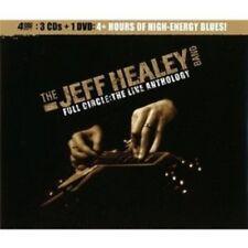 "JEFF HEALEY BAND ""FULL CIRCLE: THE LIVE ANTHOLOGY"" 3 CD+DVD NEW+"
